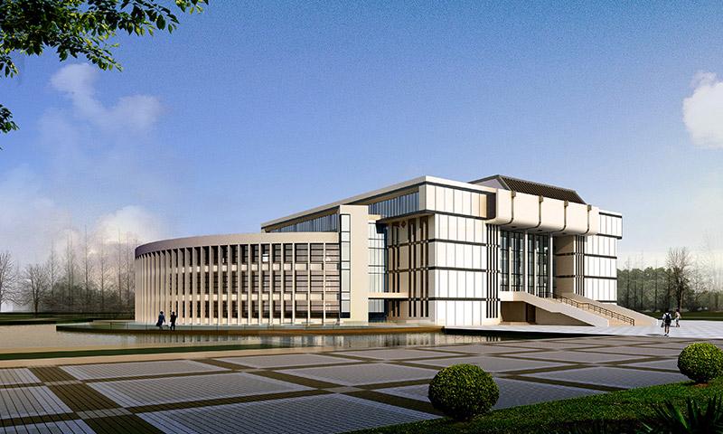 南京铁道职业技术学院苏州校区图书馆地源热泵系统工程