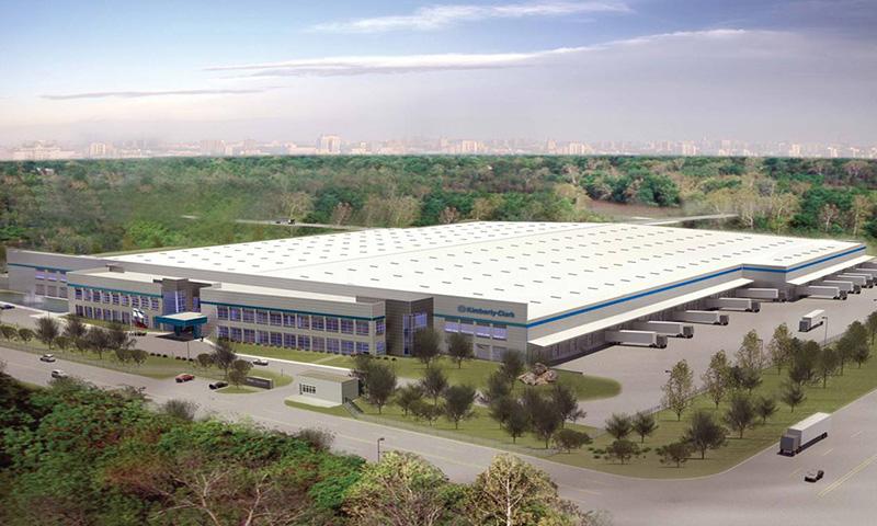 金佰利(南京)护理用品有限公司新工厂地源热泵项目(设计施工安装总承包)