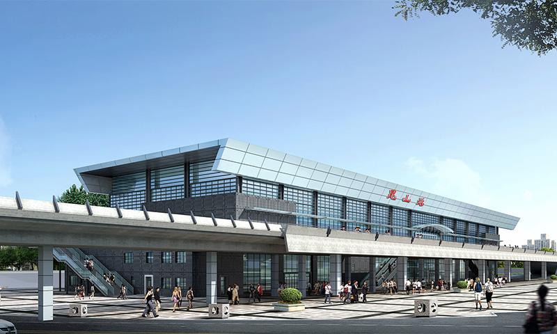 昆山火车站地源热泵工程