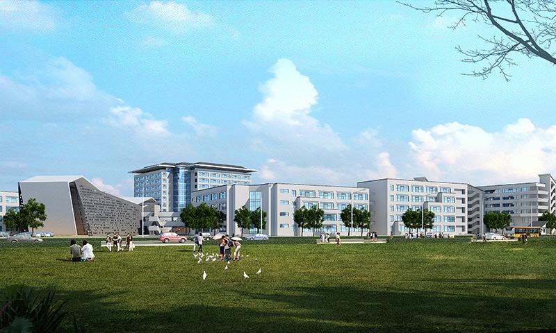 昆山硅湖职业技术学院新校区一期地源热泵工程