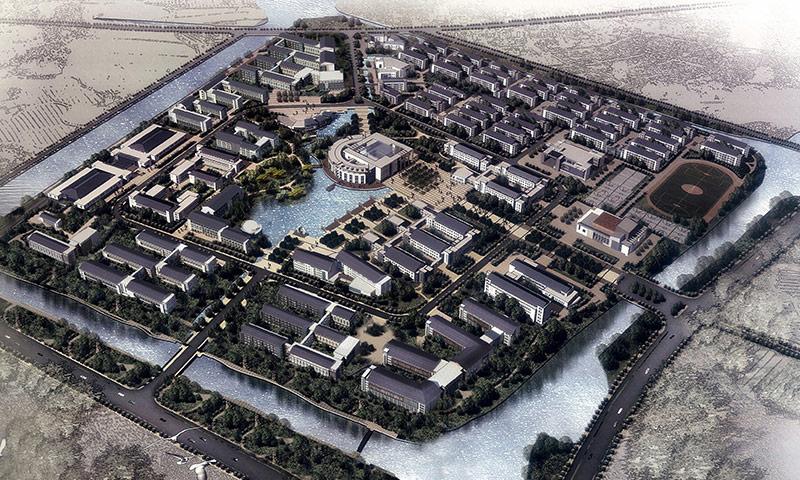 苏州大学阳澄湖校区地源热泵项目